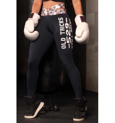 Štýlové fitness legíny Knockout Lightning