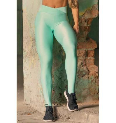 Športové legíny Sw Fitness Green with Fringe