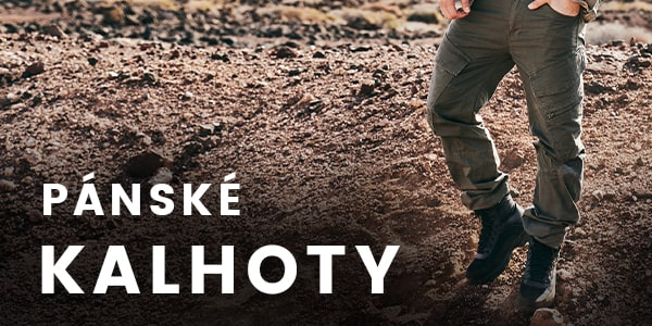 Pánské army a outdoor kalhoty